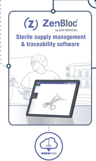 ZenBloc - Logiciel de gestion des approvisionnements stériles et de traçabilité