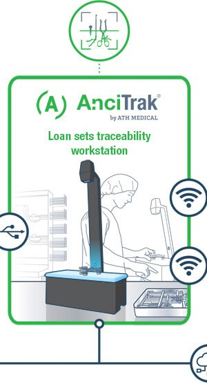 AnciTrak - Loan sets traceability workstation
