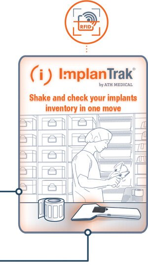 ImplanTrak - Shake and check your implants inventory in one move